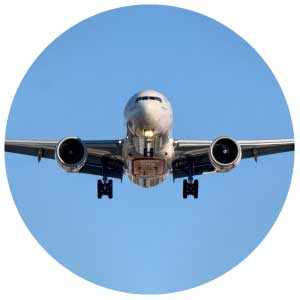 transporte aereo cargas