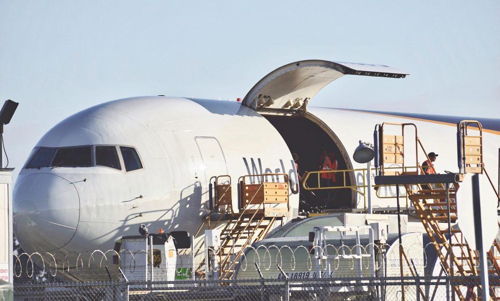 Exportacion de bienes y servicios via aerea